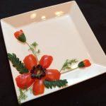 Những cách trang trí món ăn đơn giản mà đẹp từ rau củ quả